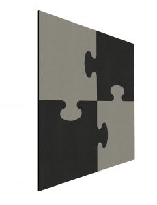 Shapes Pin Panel bulletin , Puzzle, 100×100 cm