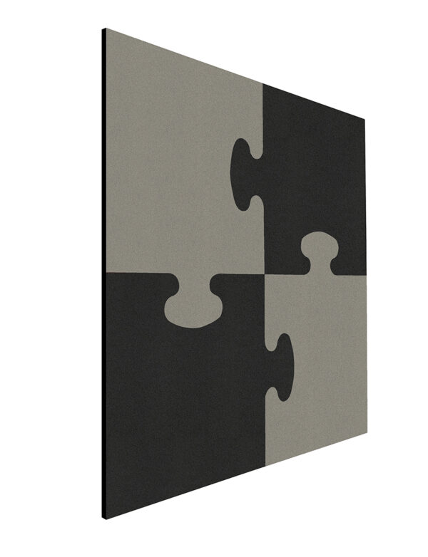 Shapes Pin Panel bulletin , Puzzle, 100x100 cm