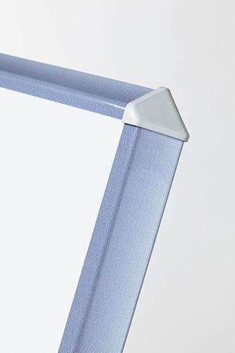 Whitebord Silverline, gelakt staal wit