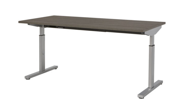 Bureau Sophie 160x80cm - Logan eik - aluminium