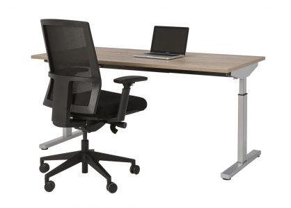 Bureau Sophie 160x80cm – Robson – aluminium