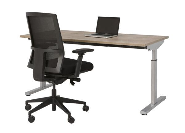 Bureau Sophie 160x80cm - Robson - aluminium