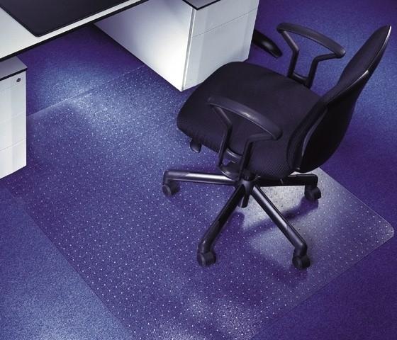 Vloermat bureaustoel zachte vloerbedekking