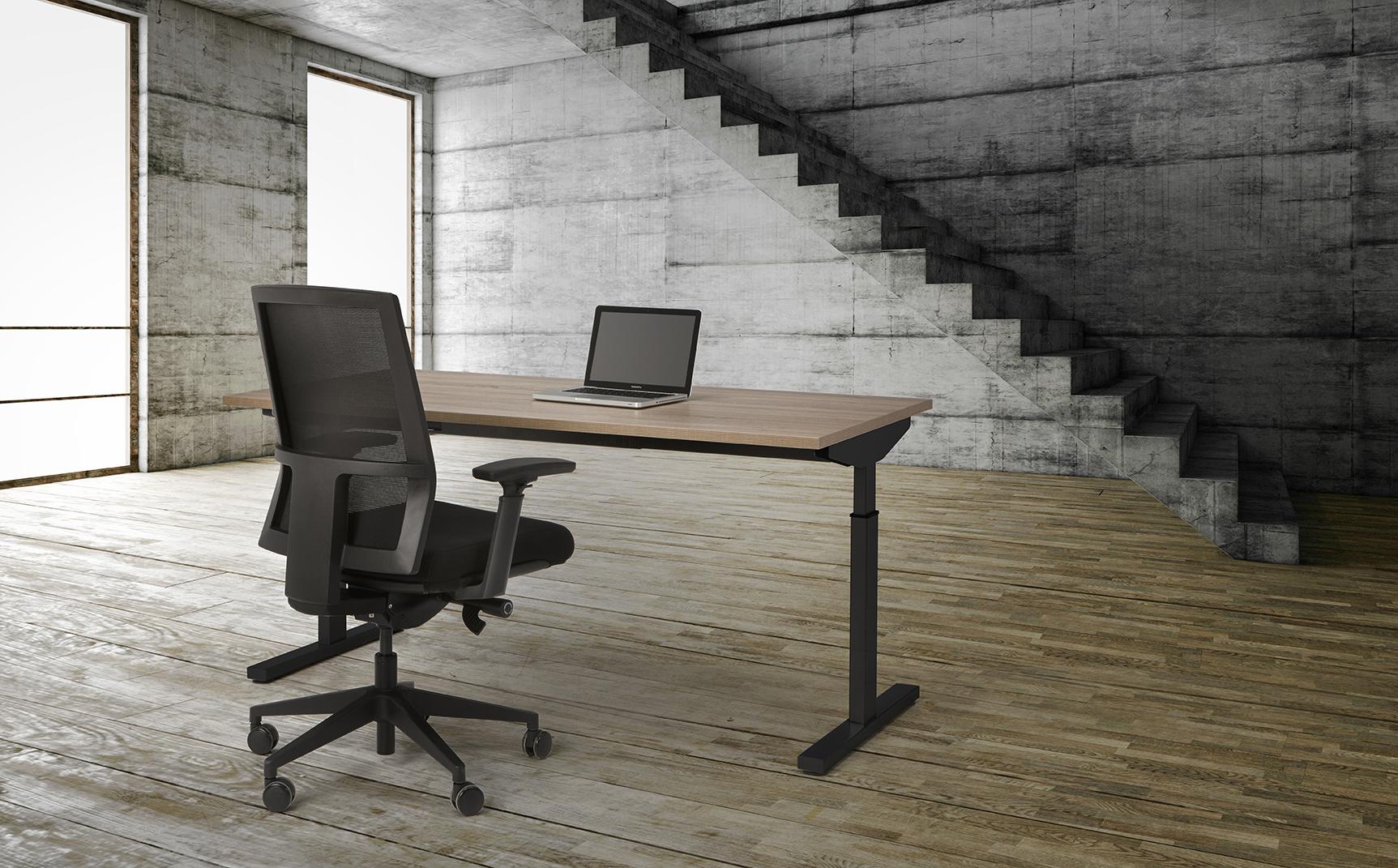 Bureau Sophie 160x80cm - Robson - zwart