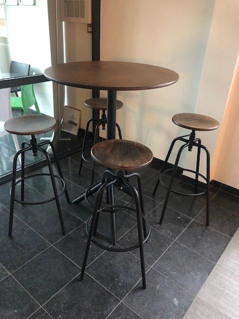 ronde bartafel