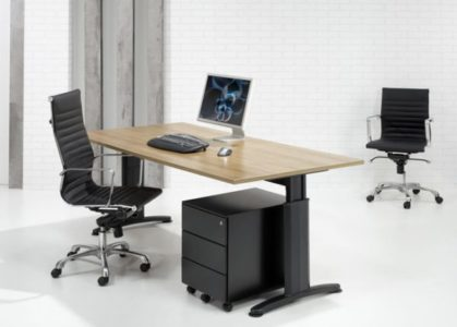 ergonomisch bureautafel hout | ergonomisch bureau | kantoormeubelen.pro