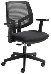 zwarte bureaustoel gamma | ergonomische bureaustoel | kantoormeubelen.pro