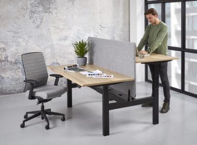 Zit-sta bureau - Voor de juiste werkhouding